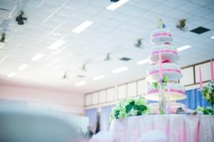 เค้กแต่งงาน จากโต๊ะจีนลุงประดิษฐ์